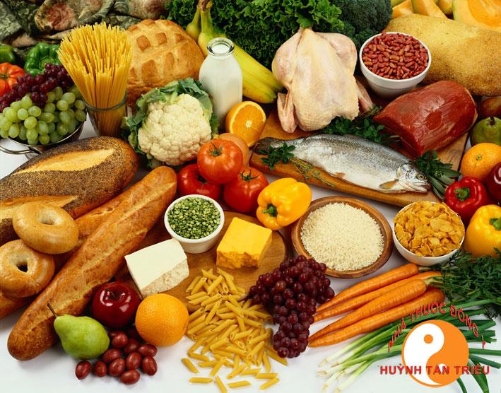 chữa bệnh yếu sinh lý ở nam giới bằng thức ăn